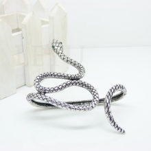 Green Eye Crystal Snake Hand Palm Bangle Cuff Bracelet