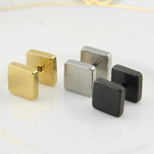 Gothic Square Stud Earrings