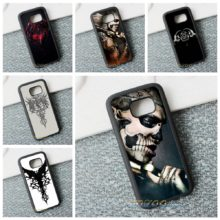 Gothic Skull Tattoo Various Designs Phone Case Cover Samsung