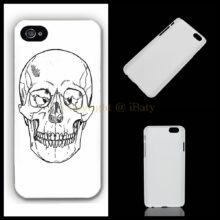 Hand Drawn Goth Skull Phone Case Cover Iphone