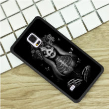 Gothic Girl Anime Dark Magic Black Rubber Phone Case Cover Samsung