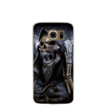 Gothic Grim Reaper Death DJ Cell Phone Case Cover Samsung