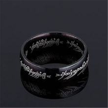 100% Tungsten LOTR 316l Stainless Steel Ring