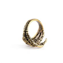 Adjustable Eagle Claw Skeleton Ring High Quality